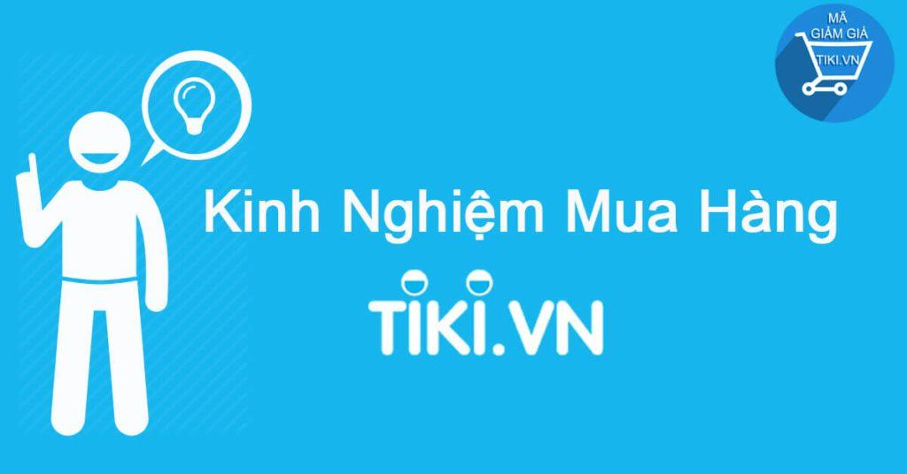 Cách nhập mã giảm giá khi mua hàng trên Tiki
